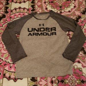 Boys under armour shirt